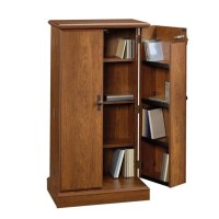 Multimedia Storage Cabinet in Milled Cherry - 418651