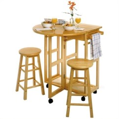 Outdoor Bar Table And Chairs Value City Dining Mobile Breakfast Set With 2 Stools In Natural 89332