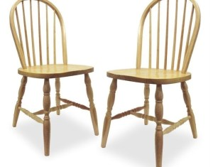 Winsome Wood Windsor Chair In White Finish
