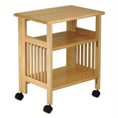 Foldable Table And Chairs Garden Target For Kids Solid Wood Portable Printer Stand In Natural - 81628