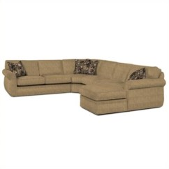 Broyhill Sectional Sofa Reviews Black Living Room Decorating Ideas Veronica Upholstered Raf Chaise In Beige