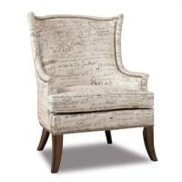 Hooker Furniture Sanctuary Paris Accent Swayback Arm Chair ...