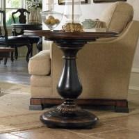 Hooker Furniture Grandover Round Pedestal End Table - 5029 ...