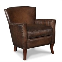 Hooker Furniture Seven Seas Leather Club Arm Chair in ...