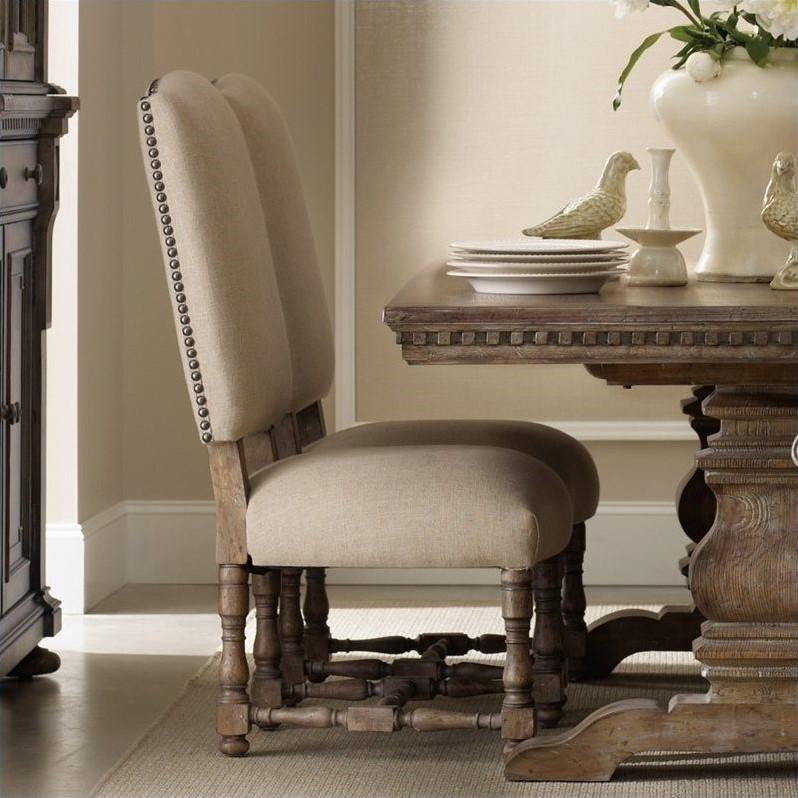 upholstered arm dining chair modern restaurant chairs hooker furniture sorella 5107 75510