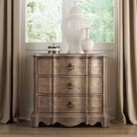 Hooker Furniture Corsica 3-Drawer Nightstand in Light Wood ...