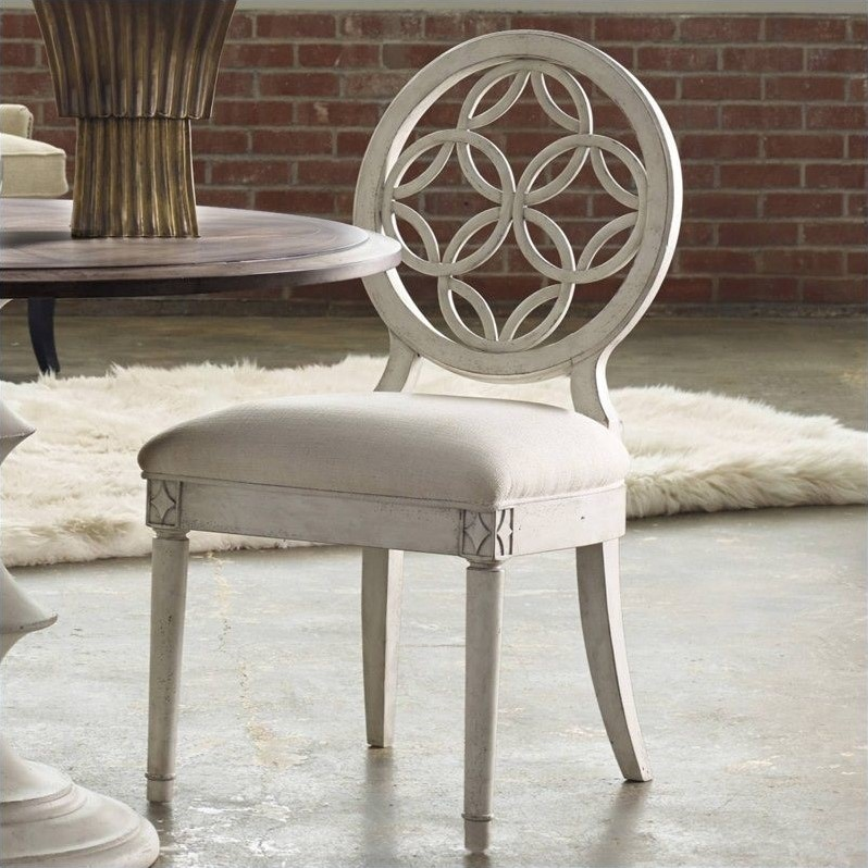 distressed dining chairs sofa chair design nigeria hooker furniture melange brynlee white 638 75006