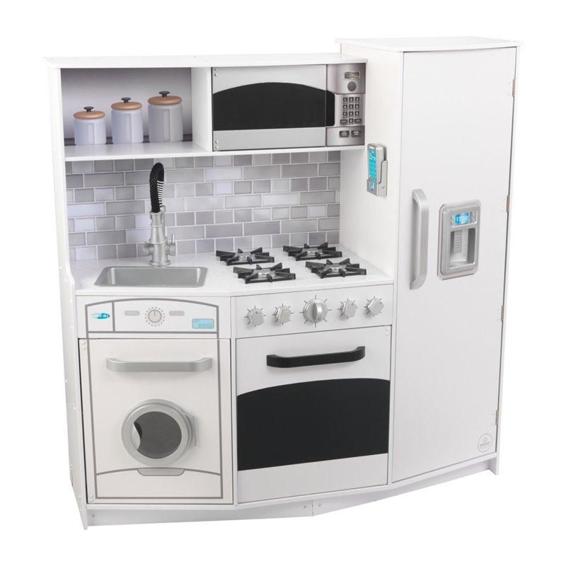 Kidkraft Large Play Kitchen in White  53369