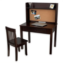 Computer Desk And Chair Set Club Ottoman Kidkraft Pinboard 27150