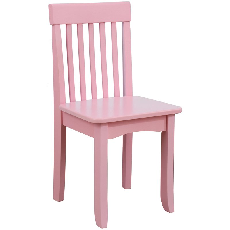 kidkraft avalon chair clear plastic covers for dining chairs in pink 16662
