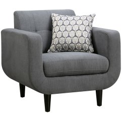 Contemporary Accent Chair Black Wire Coaster Stansall Modern In Gray 505203