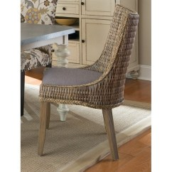 Gray Rattan Dining Chairs White Gliding Rocking Chair Coaster Matisse Woven In And Wash 101075