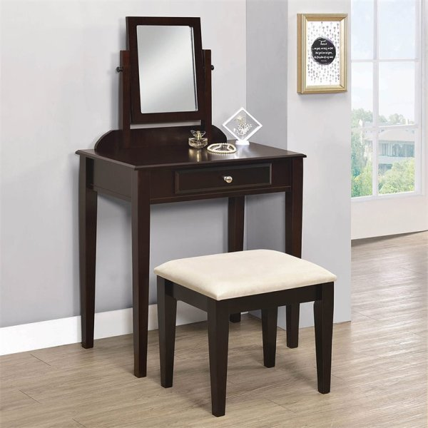 Small Bedroom Vanity Set