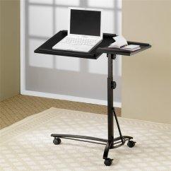 Wayfair Furniture Sofa Tables Sure Fit Pearson Cover Coaster Desks Adjustable Mobile Laptop Stand In Black ...