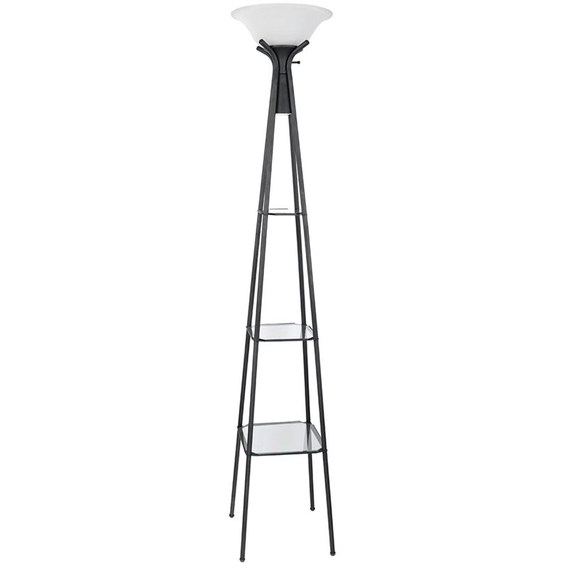 round cushions for outdoor chairs tripp trapp high chair coaster black floor lamp with glass shelves - 901420