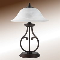 Coaster Casual Table Lamp in Dark Bronze