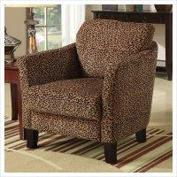Club Chair in Cheetah Print - 900403