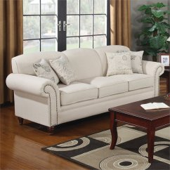 Furniture Row Sofa Sleepers Settee Couch Or Nail Head Trim Nailhead 8dbff22d0a70 1 ...
