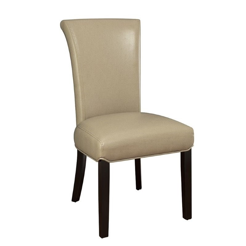 Coaster Newbridge Upholstered Dining Chair in Taupe  102883