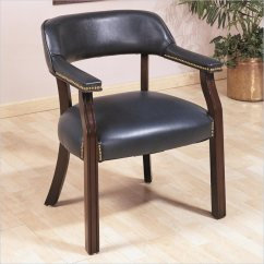 Upholstered Chair With Nailhead Trim Intex And Ottoman Coaster Office Guest In Navy 511n