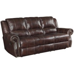 Coaster Leather Sofa Reviews Rattan Garden Furniture Modular Corner Set Rawlinson Faux Motion Reclining In ...