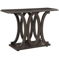 C Shaped Sofa Designs Tailgate Coaster Table In Cappuccino 703149