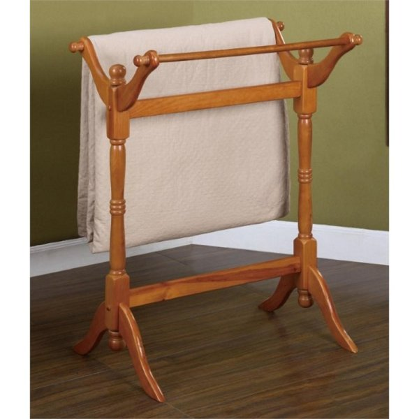 Oak Quilt Rack Blanket