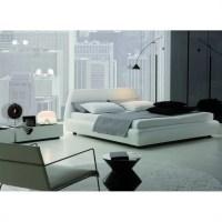 Rossetto Downtown Platform Bed 3 Piece Bedroom Set in