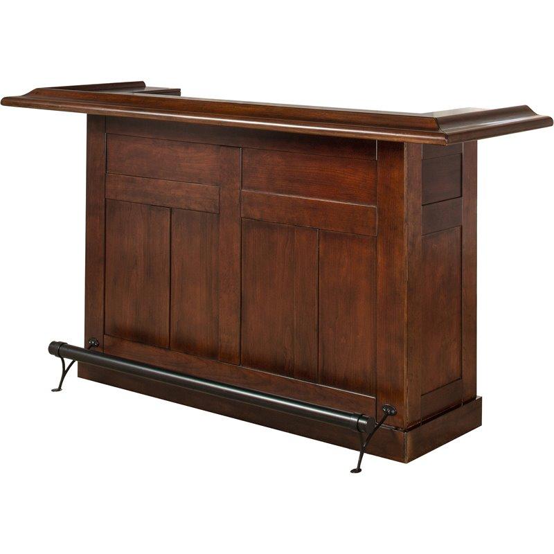 Hillsdale Classic Wooden Home Bar In Warm Cherry 62578ACHE