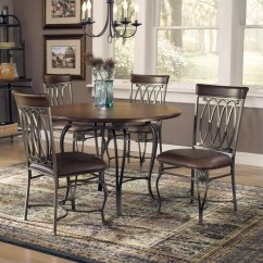 Round Cushions For Outdoor Chairs Fishing Chair Hillsdale Montello 5 Piece Dining Table Set - 41541dtbc45