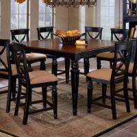 Hillsdale Northern Heights Counter Height Dining Table in ...