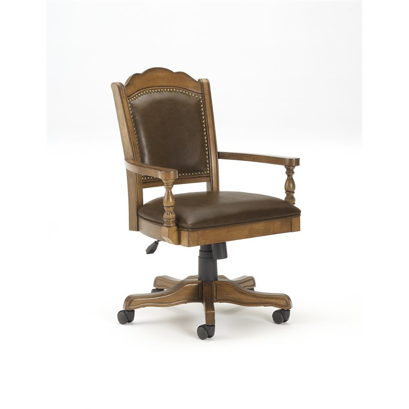 Hillsdale Nassau Arm Chair with Leather Back  6060801
