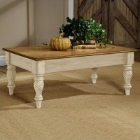 Hillsdale Wilshire Distressed Rectangular Cocktail Table ...