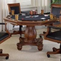 Hillsdale Kingston Poker Table Set - 6004GTBC
