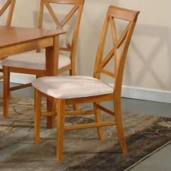 Lexington Dining Chairs Burlap Chair Covers Ideas Atlantic Furniture In Caramel Latte Set Of 2
