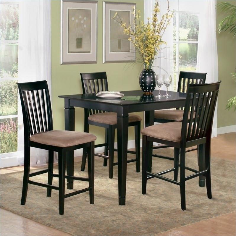 Atlantic Furniture Montego Bay 5 Piece Pub Height Dining