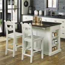 Home Styles Fiesta Granite Top Kitchen Island With 2