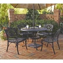 5 piece metal patio dining set