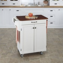 Cherry Kitchen Cart Table With Bench And Chairs In White Finish Top 9001 0027g