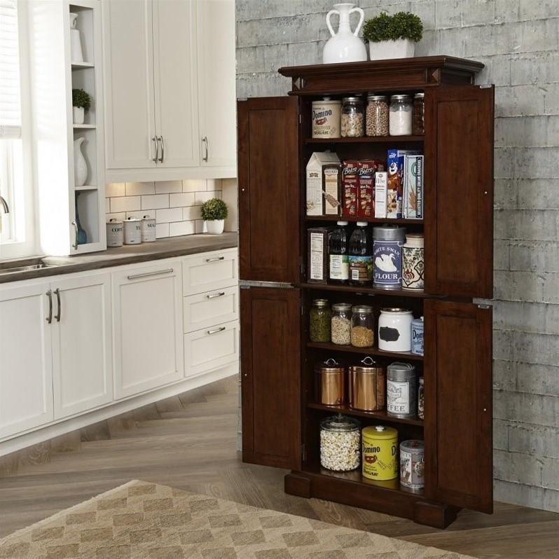 Kitchen Pantry In Cherry 5005 69