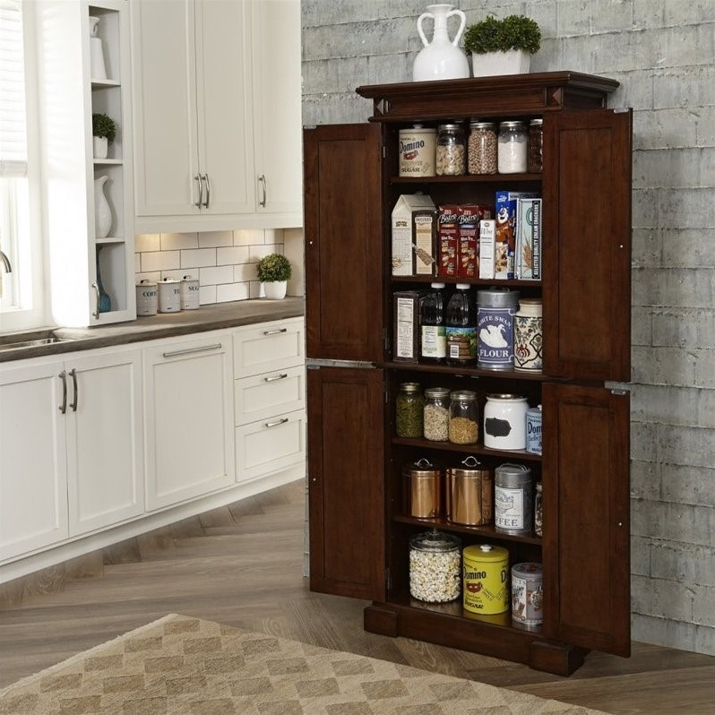 bar height kitchen table sets greenhouse window pantry in cherry - 5005-69