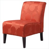 Orange Accent Chair - living room colors