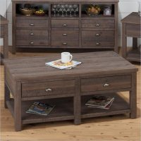 Coffee Table in Falmouth Weathered Grey - 535-1