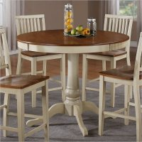 Steve Silver Company Candice Round Counter Height Oak ...