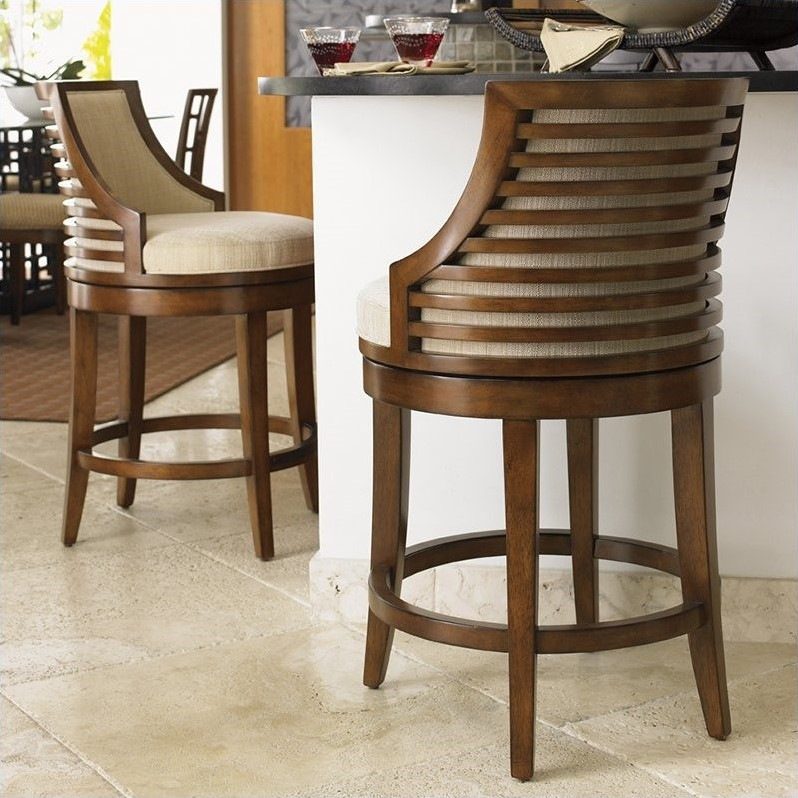 counter height bar chairs painting dining room how to choose the right design for stools boraam augusta 29 tommy bahama home ocean club cabana swivel stool
