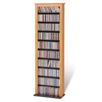 Prepac 4sided Spinning Cd Dvd Media Storage Tower In Black