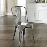 Crosley Furniture Amelia Metal Cafe Dining Chair ...