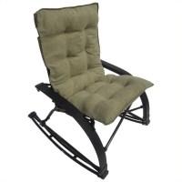International Caravan Wembley Folding Rocking Chair in ...