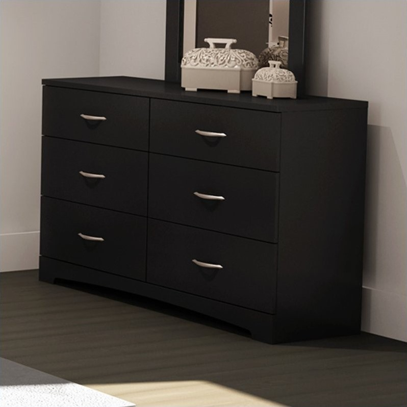 Maddox Dresser in Pure Black  3107010