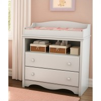 South Shore Andover Pure White Baby Changing Table | eBay
